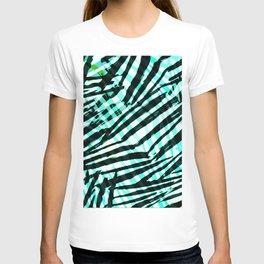 cyan confusion T-shirt