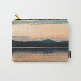 Long Lake Adirondack Sunset Carry-All Pouch