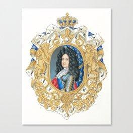 King Louis XIV Canvas Print