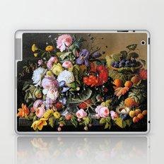 Vintage Varnish- Flowers&Fruit Laptop & iPad Skin