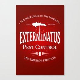 Exterminatus Canvas Print