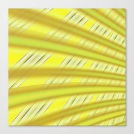 Fractal Play in Citruslicious Canvas Print