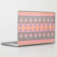 montana Laptop & iPad Skins featuring Montana Weave by The Velvet Owl Design Studio