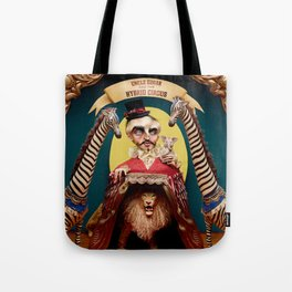 Uncle Edgar and the Hybrid Circus Tote Bag