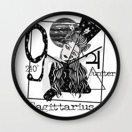 Sagittarius - Zodiac Sign Wall Clock