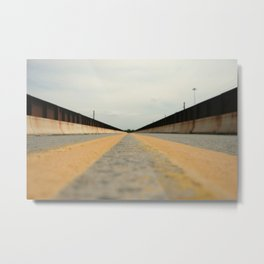 Closed Bridge Metal Print