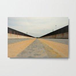 Closed Bridge Metal Print