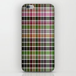 Pink Roses in Anzures 5  Plaid 2 iPhone Skin