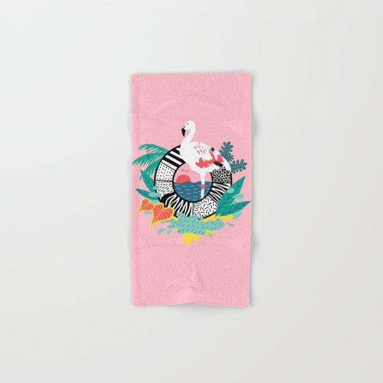 Flaming-oOO Hand & Bath Towel