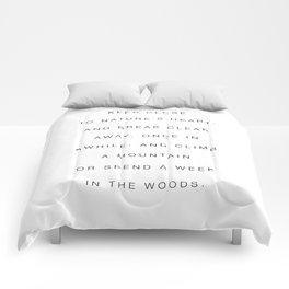 Keep close to nature Comforters