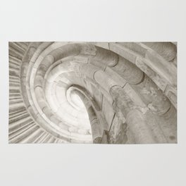Sand stone spiral staircase 4 Rug