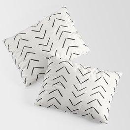 Mud Cloth Big Arrows in Cream Pillow Sham