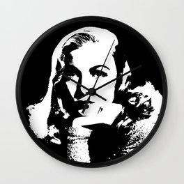 Veronica Lake Is Class Wall Clock