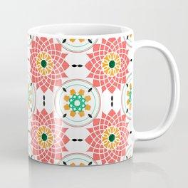 morrocan pink mandala pattern no4 Coffee Mug