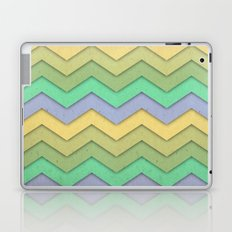 Spring day Chevron Laptop & iPad Skin