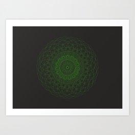 Sacred G Orgasma Art Print
