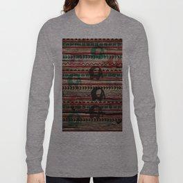 Elephant Wood Long Sleeve T-shirt
