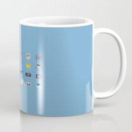 8-BIT Retro Console & Game Coffee Mug
