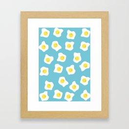 Fried eggs Framed Art Print