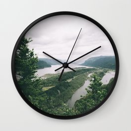 Columbia River Gorge VII Wall Clock