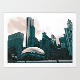 Monochrome Chi Art Print