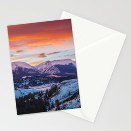 Paint the Sky Stationery Cards