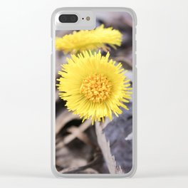 Spring wild flowers. Clear iPhone Case