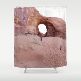 The Ear, the Backcountry, the Sand, and my Dad Shower Curtain