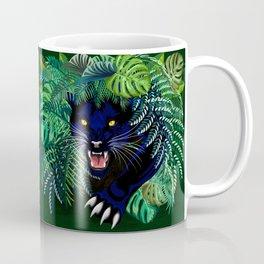 Black Panther Jungle Spirit Coffee Mug