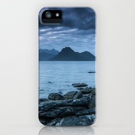 The Dark Cuillin II iPhone Case