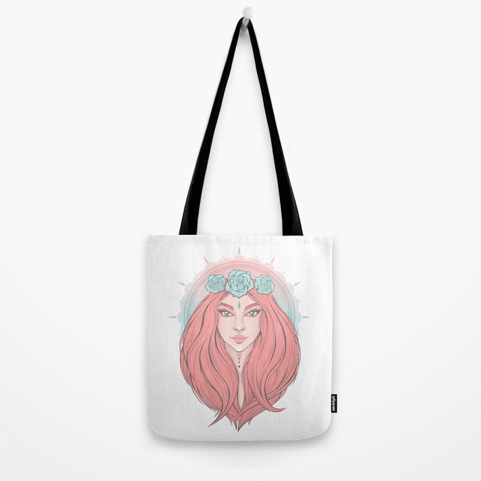 Rose Ivy Tote Bag