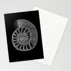 gyre black Stationery Cards