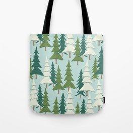 Winter Pines Tote Bag
