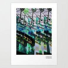 //E/CHO_DERWELTZEITUHR Art Print
