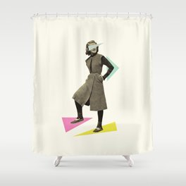 Shapely Figure Shower Curtain