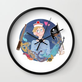 My first and only love is the Sea Wall Clock