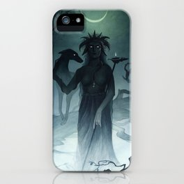 Hecate ~ A Compendium of Witches iPhone Case