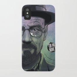 Heisenberg, Say my name! iPhone Case