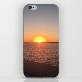 SUNSET HARBOR iPhone Skin