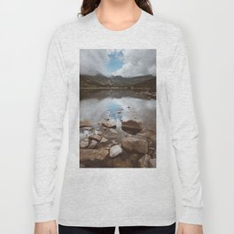 Mountain Lake - Landscape and Nature Photography Long Sleeve T-shirt