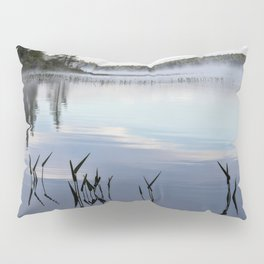 trees and weeds reflected Pillow Sham