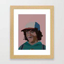 dustin Framed Art Print