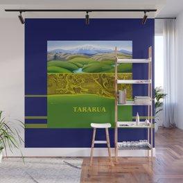 The Lie of the Land: Tararua Wall Mural