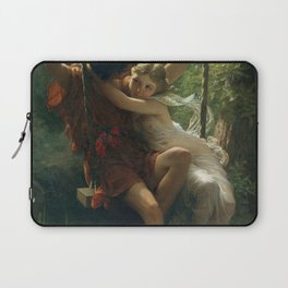 Springtime by Pierre-Auguste Cot 1873, French Laptop Sleeve