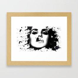 Watercolour effect print  Framed Art Print