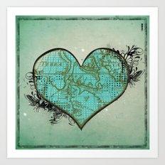 Heart #3 Art Print