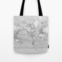 Atlas of the World Tote Bag