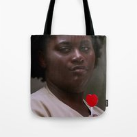 oitnb Tote Bags featuring Taystee, OITNB by sinika