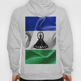 Lesotho Flag Hoody