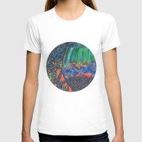 wine T-shirts featuring Wine Glass by Juliana Kroscen